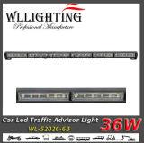 Luz de advertência do conselheiro do tráfego do diodo emissor de luz para carros de bombeiros da polícia da ambulância