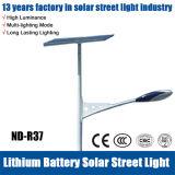 6m 36W Solar-LED die Straßenlaternebescheinigten mit Cer RoHS