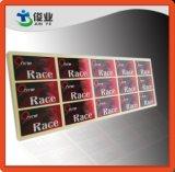 Étiquettes autoadhésives métalliques pour parfums haut de gamme