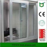 Finestra di vetro di alluminio personalizzata di scivolamento con gli occhiali di protezione