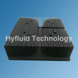 Skived алюминиевый теплоотвод, технически теплоотвод