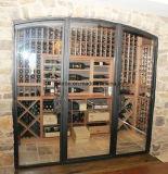Самомоднейшая дверь ковки чугуна винного погреб погреба высокого качества