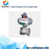 Válvula de esfera da flutuação do controle pneumático