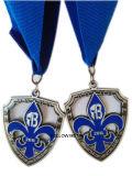 Medaglia per la battaglia di New Orleans, smalto molle, argento antico