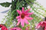 La margarita artificial de seda florece las flores falsas para la decoración casera