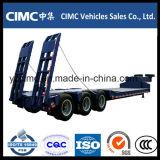 Axle Cimc 3 50 тонн качества низкого трейлера кровати самого лучшего