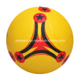 Mercancías de goma de la bola de fútbol de las espinillas de alto rebote