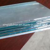 vidrio del claro de 3m m para el vidrio del acero inoxidable del edificio
