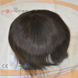 Toupetje van het Stuk van het Haar van de Kleur Handtied Mono Hoogste Omber van het Menselijke Haar van 100% het Halve