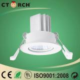 A ESPIGA isolou a ampola do diodo emissor de luz 7W para baixo usada para a lâmpada do hotel