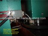ゴム製シーリング型(フレームタイプ)が付いている版のゴム製加硫装置