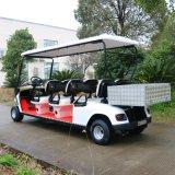 6 Seaterの後部貨物ボックスが付いている電気輸送のカート