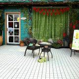 Glasig-glänzende volle Karosserien-keramische Zugriffs-Pool-Fußboden-Fliese-Fabriken in China außerhalb des Produktions-heißen Verkaufs auf spanisch