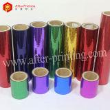 Película que lamina termal olográfica de la foto china BOPP, película seca