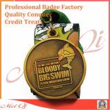 Su ordinazione la medaglia del premio del gioco di sport della pressofusione 3D