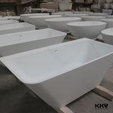 2016 artificiale Marmo Vasca da bagno, vasca da bagno bianco solido di superficie, freestanding bagno vasca da bagno