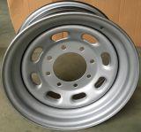 Серебряная стальная оправа 16X7 колеса автомобиля автозапчастей
