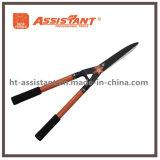 Cisailles à ossature à rayures non perforées avec poignées extensibles à longue portée
