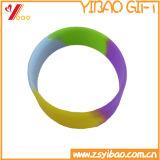Wristband variopinto su ordinazione del silicone di disegno di Debossed (YB-AB-009)