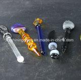 方法様式のガラス配水管のための頭骨の形のガラスDabberのツール