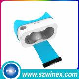 Glaces faites sur commande du carton V2 3D Vr de Google d'impression de logo de modèle neuf