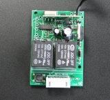 Récepteur universel de rf 12VDC/24VDC 2channels avec apprendre le bouton