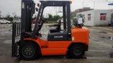 Forklift de 3.5ton LPG/Gasoline com motor chinês Gq-4y, o mastro largo da opinião de 2 estágios e preço à saída da fábrica