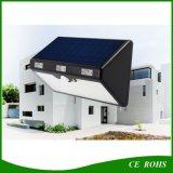 Nueva luz solar del sensor de movimiento de 60 LED con la batería de litio 9600mAh