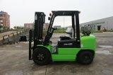 중국 엔진 Gq 4y, 2개의 단계 넓은 전망 돛대 및 Ex-Factory 가격을%s 가진 3.5ton LPG/Gasoline 포크리프트