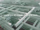 Barandilla de la resistencia a la corrosión FRP, perfil de Pultruded, barandilla de la fibra de vidrio