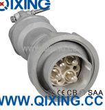 Liga de alumínio 3p+N+E plugue industrial de 420 ampères