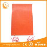 couvre-tapis 230V de chaufferette des silicones 80W