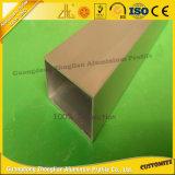 câmara de ar de alumínio anodizada 6000series do alumínio da tubulação do revestimento do pó