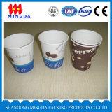 Одностеночные бумажные стаканчики бумаги с покрытием PE