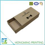 Caixa de empacotamento do papel de embalagem da gaveta do laço de curva