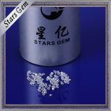 Очень малые Gemstones CZ белизны отрезока звезды размера 1mm гениальные Shining ясные для ювелирных изделий Zirconia