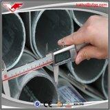 tubo de acero galvanizado sumergido caliente del andamio En39 de 48.3m m
