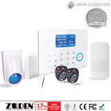 Охранная сигнализация домашней обеспеченностью GSM беспроволочная с LCD