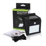 太陽LEDの壁ライト屋内屋外の使用のための特別に長い延長コードが付いている防水PIR動きセンサーの機密保護ライト
