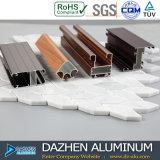 L'Algérie profil en aluminium de 40 séries pour la porte coulissante de tissu pour rideaux de guichet