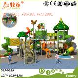 Equipo al aire libre del patio de los niños (WOP-046B)