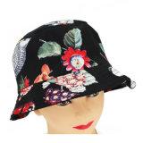 Pianura su ordinazione di modo che pesca il cappello stampato floreale all'ingrosso poco costoso della benna