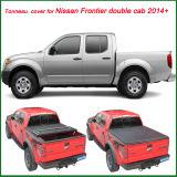 日産のフロンティアKcの二重タクシー2014+のための100%一致させた最もよいトノーカバー