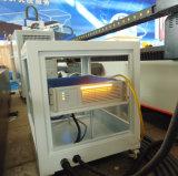 Ranurador caliente del CNC de la venta para el grabado y la máquina del laser de la fibra del corte (0~4kw)