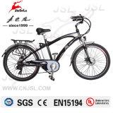 Cadre en alliage d'aluminium 36V Batterie au lithium Mountain Bikes électriques (JSL037A-2)