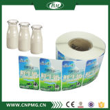 Étiquette adhésive de bouteille de collant d'emballage imperméable à l'eau fait sur commande bon marché