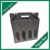 Corrugated коробка упаковки вина (FP7019)