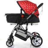 Новая высокая прогулочная коляска младенца ландшафта точки зрения