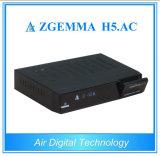 H. 265 ATSC + DVB S/S2のデコーダーZgemma H5。 AC