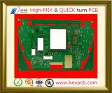 Mehrschichtiger BGA+Impedance Steuergedrucktes Leiterplatte-Prototyp-Hersteller Soem-2-28 für HF-Verstärker Schaltkarte-Vorstand
